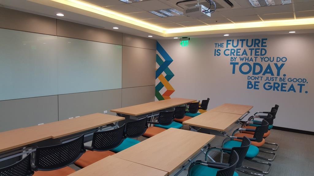 Insular life makati training room 2