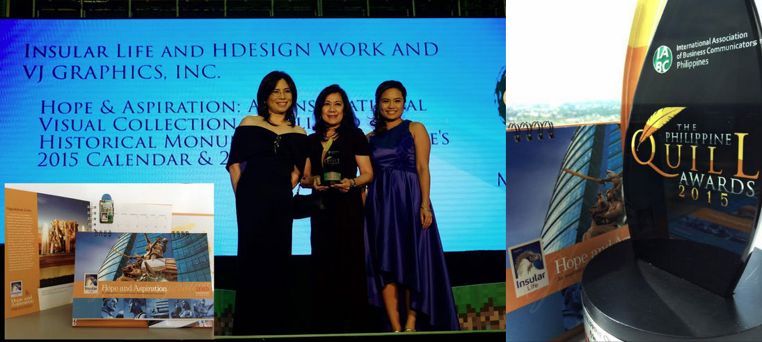 Philippine quill award of insular life