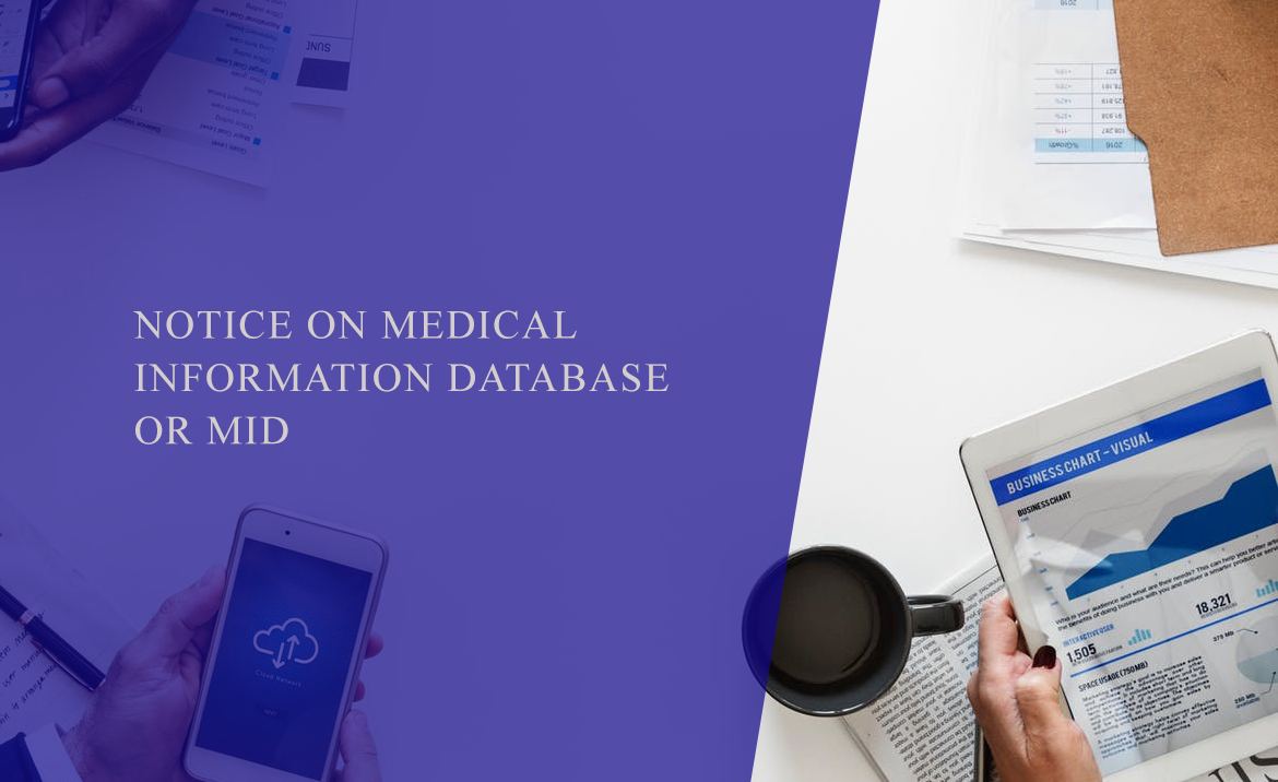Notice on Medical Information Database or Mid