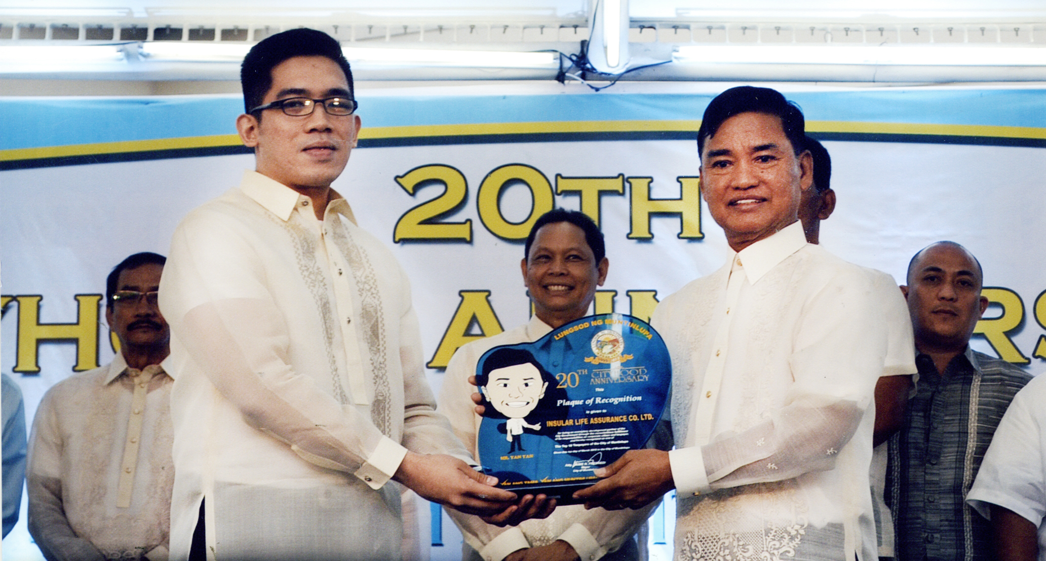 Insular Life Gets Muntinlupa Top Taxpayer Award
