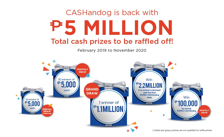 Promotions cashandog