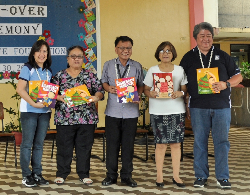 Insular Foundation donates Children's storybooks on Financial Literacy