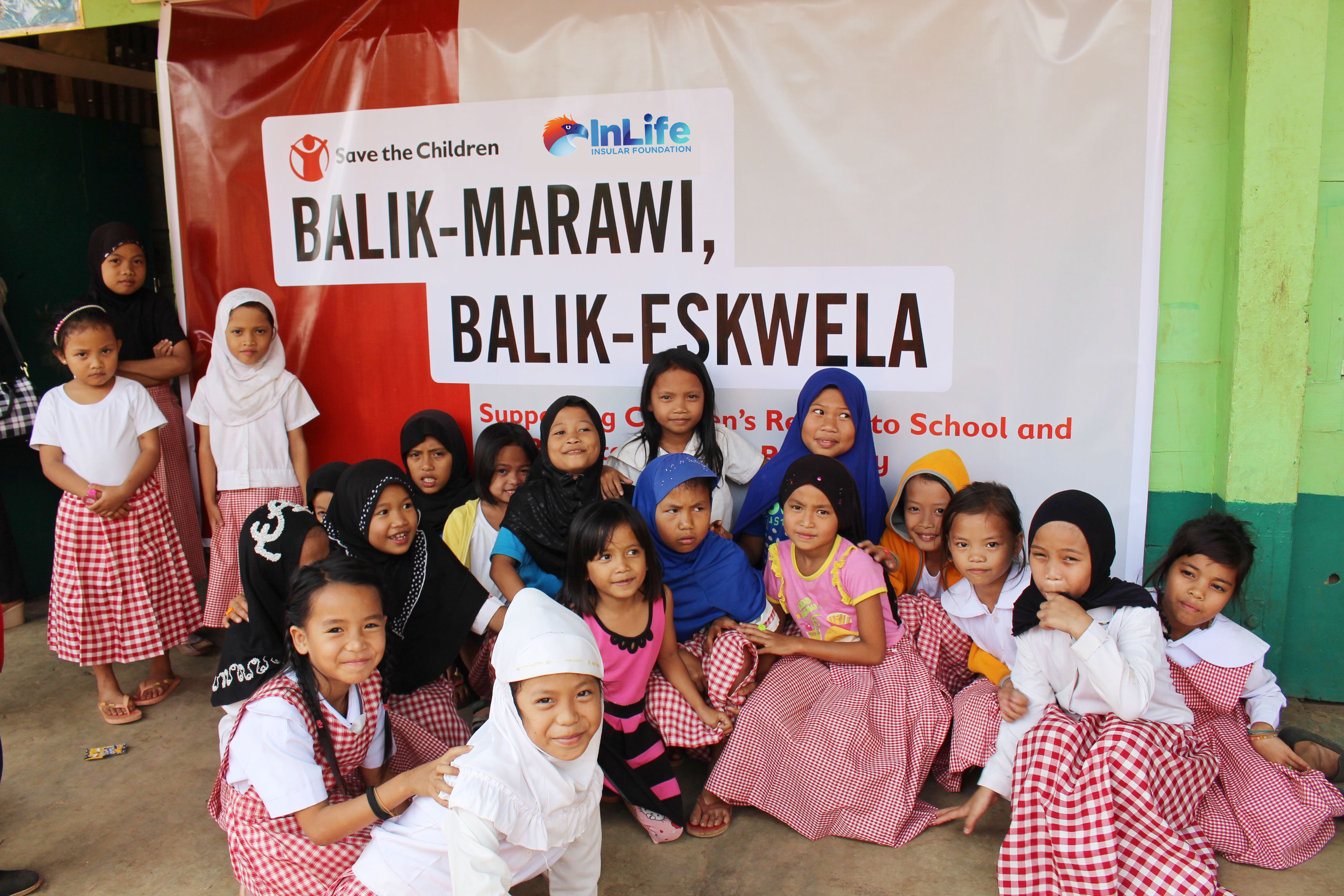 Insular Foundation, Save the Children Phils. help displaced Marawi youth to resume schooling