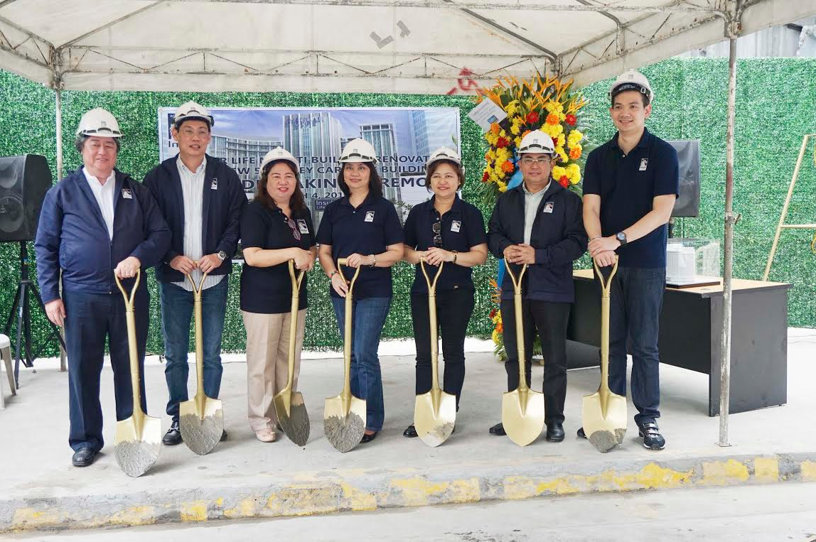 Insular Life Breaks Ground for New Makati Car Park and Renovates Makati Building
