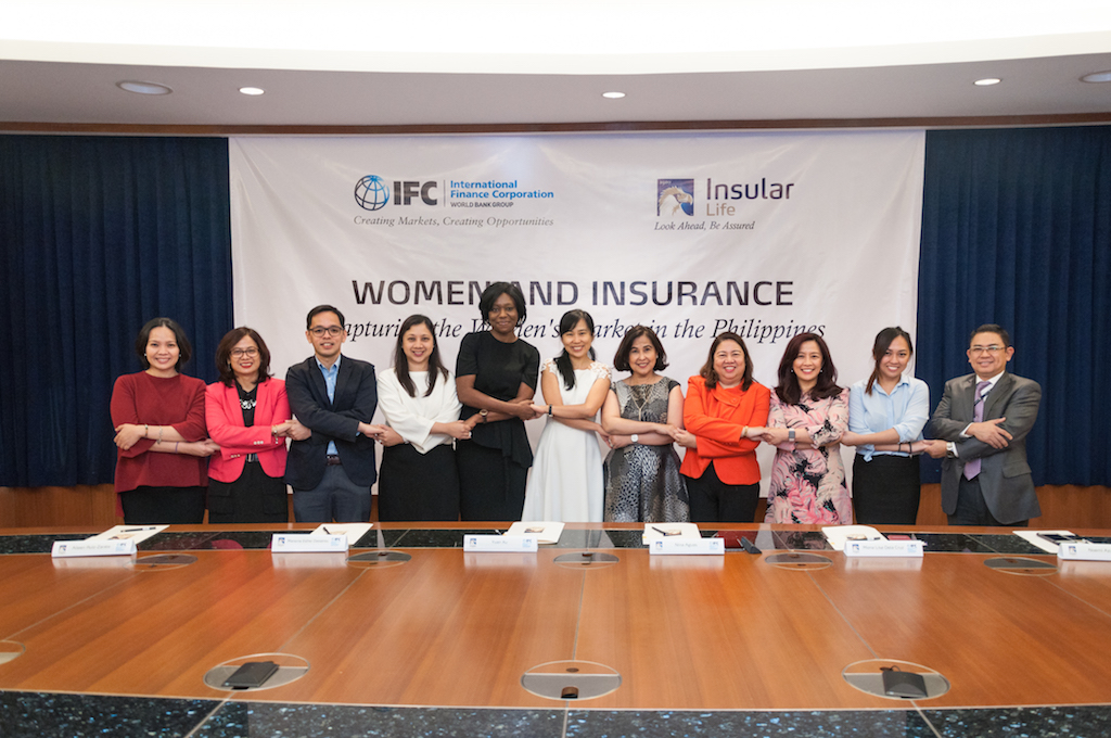 """Insular Life and IFC sign agreement to The Filipino """"SHEROES"""""""