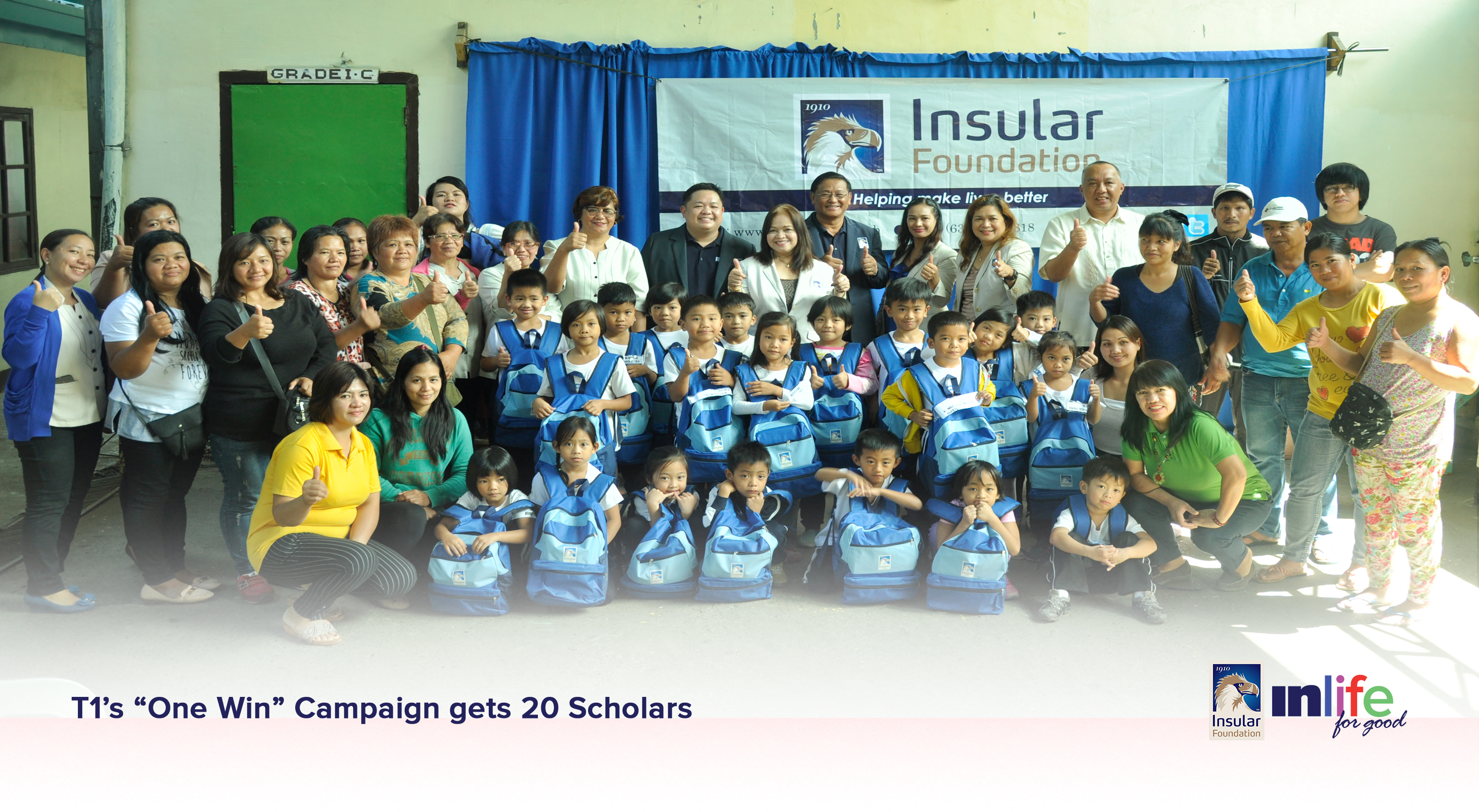 "T1's ""One Win"" Campaign gets 20 Scholars"