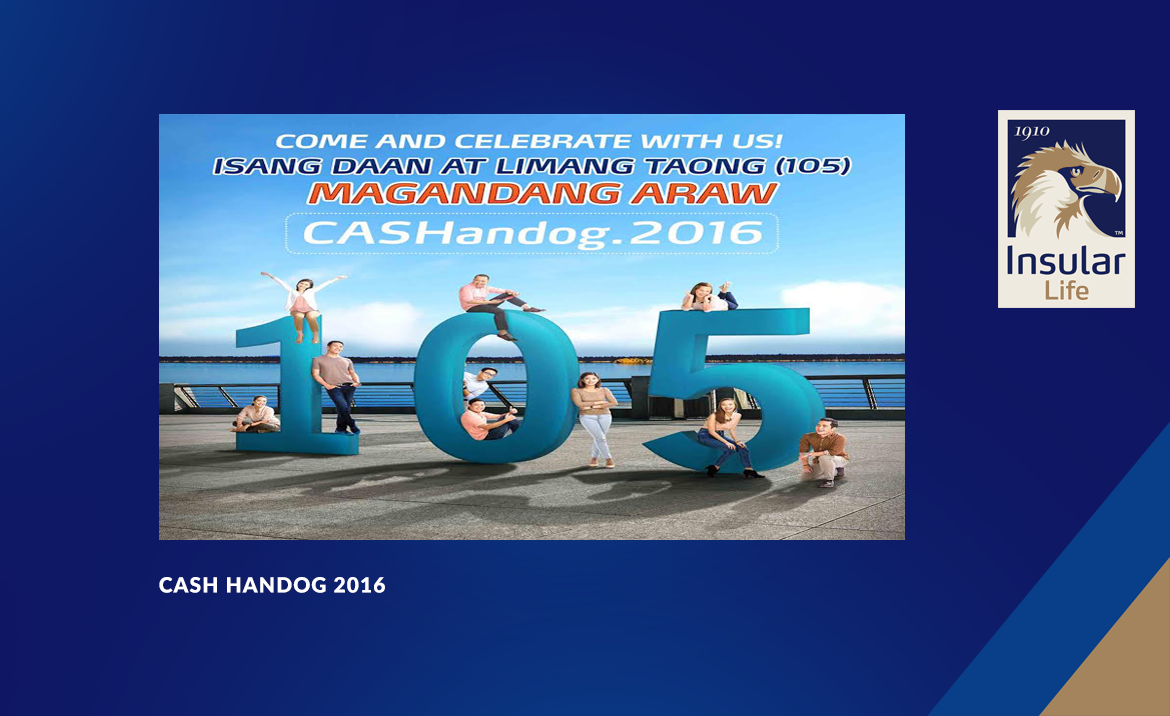 Come and Celebrate with us! CASHandog.2016