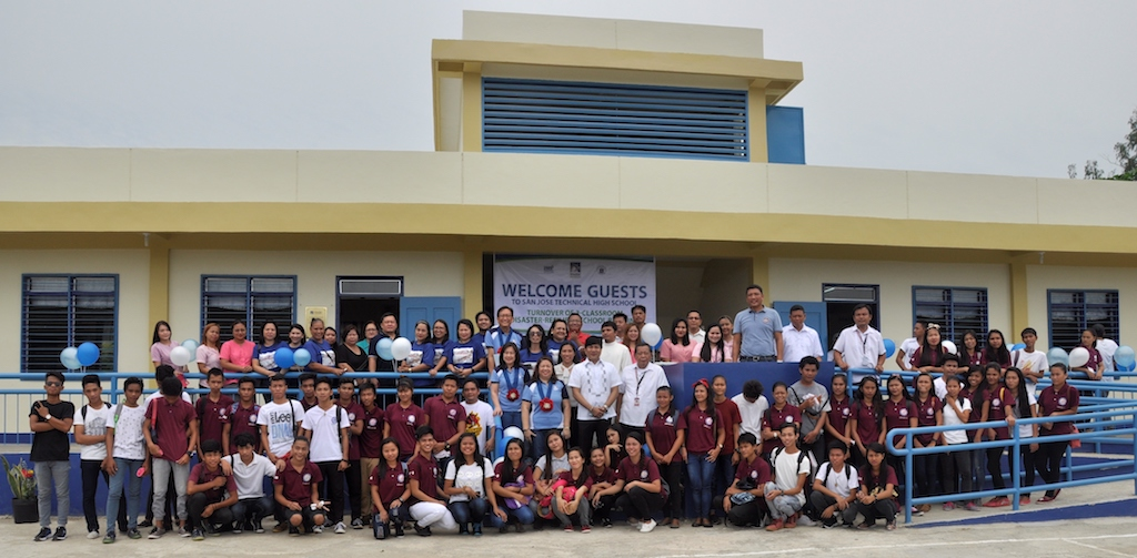 Insular Foundation inaugurates P9.4M disaster-resilient classrooms in San Jose, Northern Samar