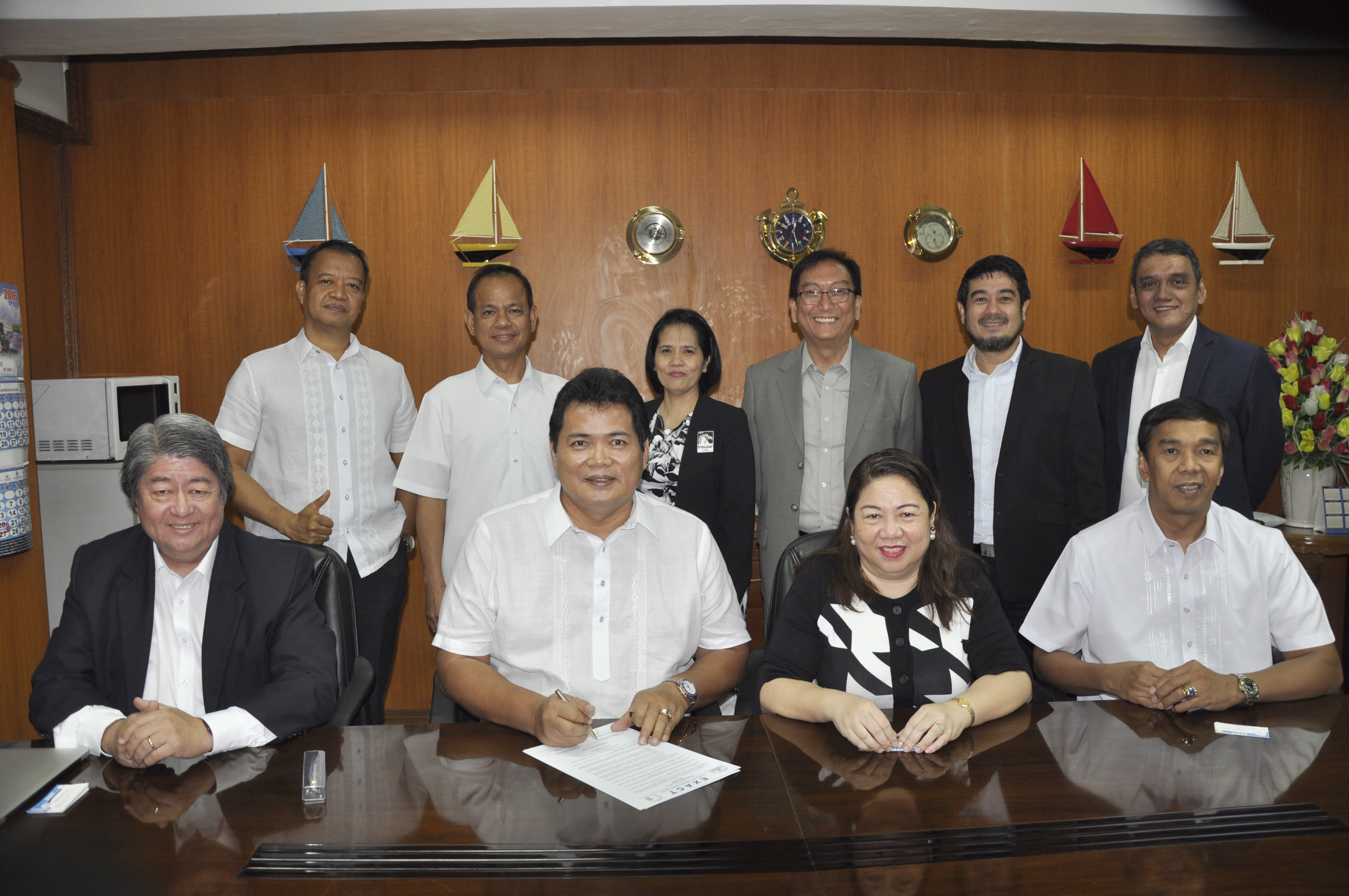 Exact insular life contract signing
